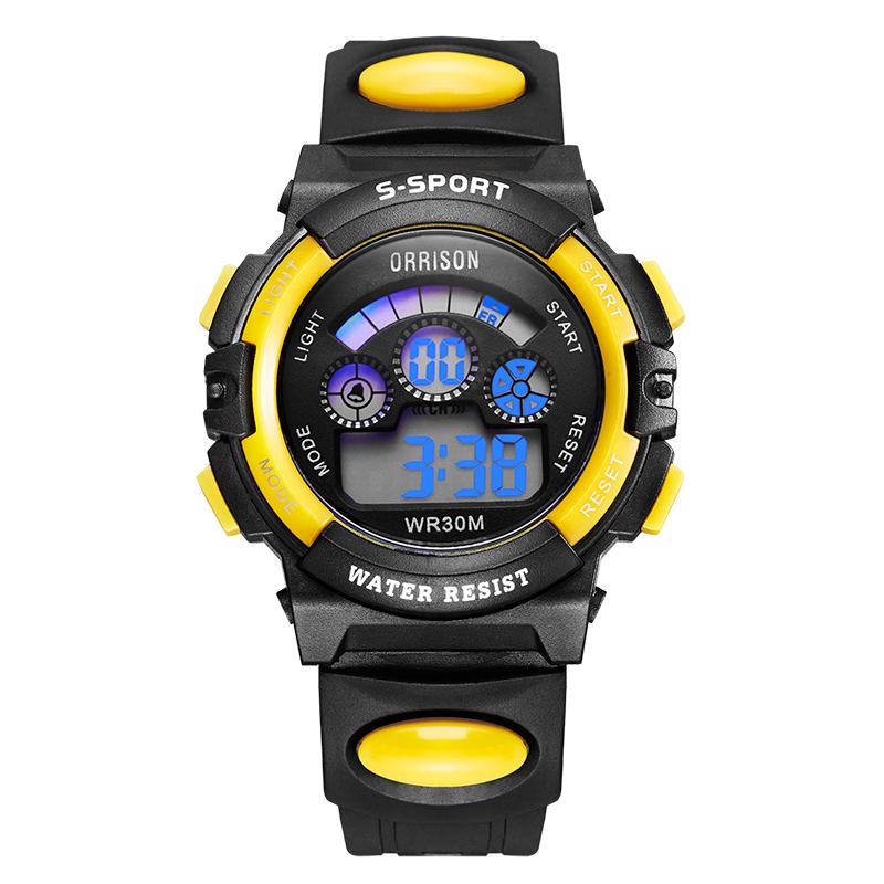 奥瑞森LED夜光防水运动电子表时尚潮流男表女表学生新款户外手表