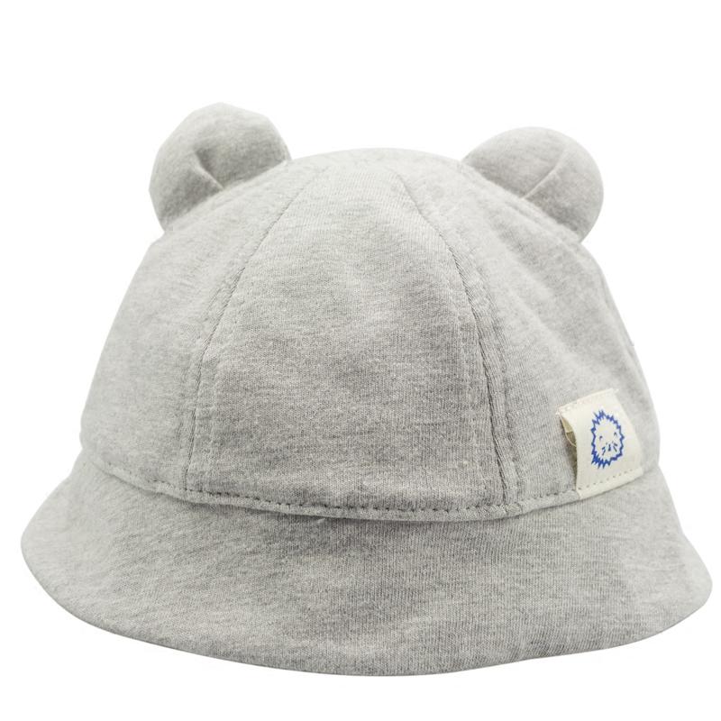 婴儿帽子秋冬可爱男童宝宝渔夫帽秋季女童儿童帽遮阳1-2岁春秋帽