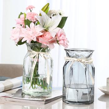 枫叶折纸创意摆件复古风玻璃花瓶