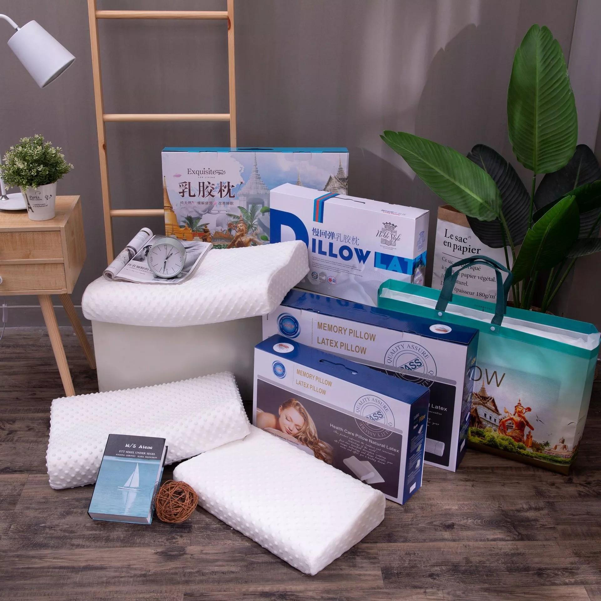 プレゼント枕セットキャンペーン景品枕カバーラテックス枕太空遅弾記憶綿枕芯
