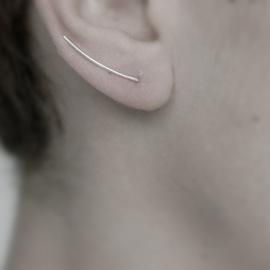 Taimi Style 极简风 特别定制款 u型耳钉欧美简约耳环女耳针耳饰图片