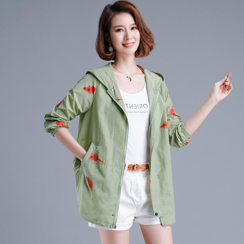 Shuiyunjian flagship store milandon authentic sandy double sunscreen clothes womens middle and long summer wear breathable thin coat women