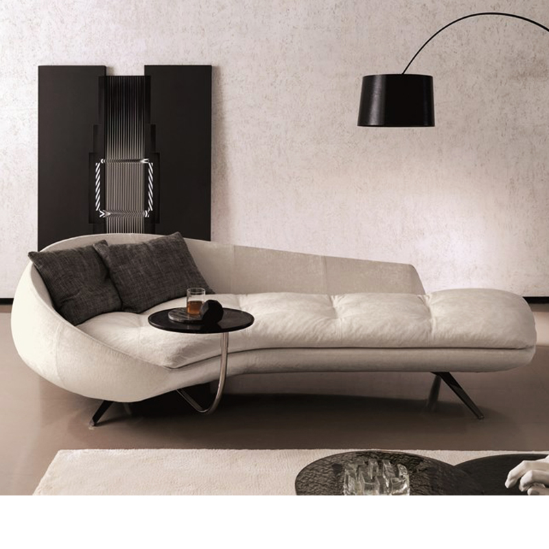 Nordic Light luxury small family living room arc Sofa Hotel Club studio clothing store reception special shaped fabric