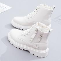 AY421DD0冬新款及踝靴商场同款2020天美意单绒马丁靴女短靴