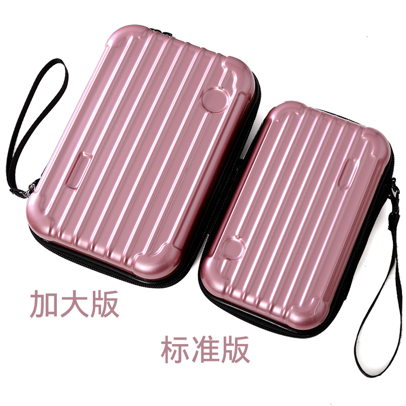 Korea travel make up hard shell waterproof mobile phone bag Lufthansa air wash bag PC function box womens portable version