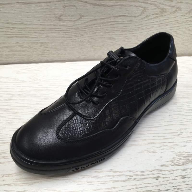 工場の断ヤード処理真皮男子靴の秋の新商品の頭皮の押し花通気性の男性用レジャー靴です。