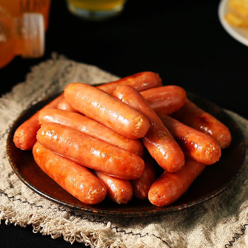 【顺丰】肉司令500g /10根鸡肉肠烤肠