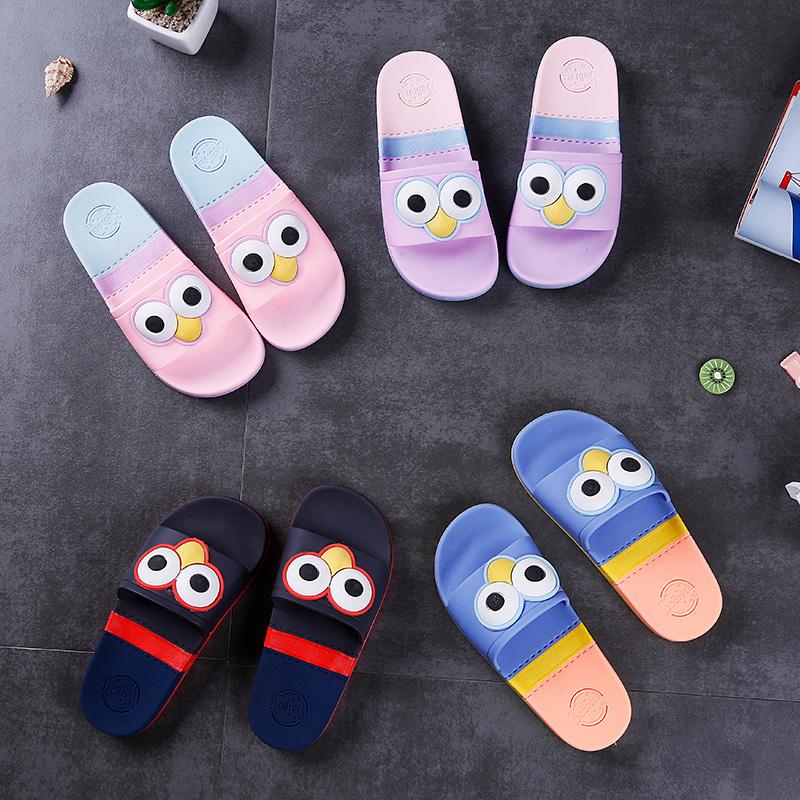 儿童拖鞋夏季男童女童凉拖鞋软底大童室内防滑可爱居家用小孩托鞋