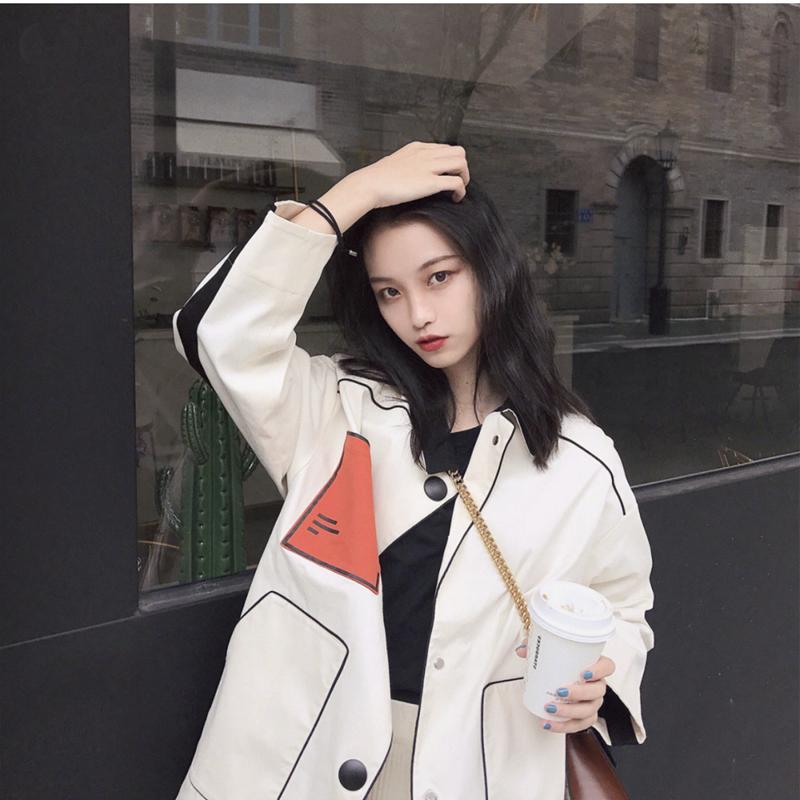 2019新款早秋韩版宽松显瘦法式复古10月20日最新优惠