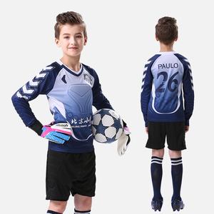 健飞足球守门员服套装小学生门将服