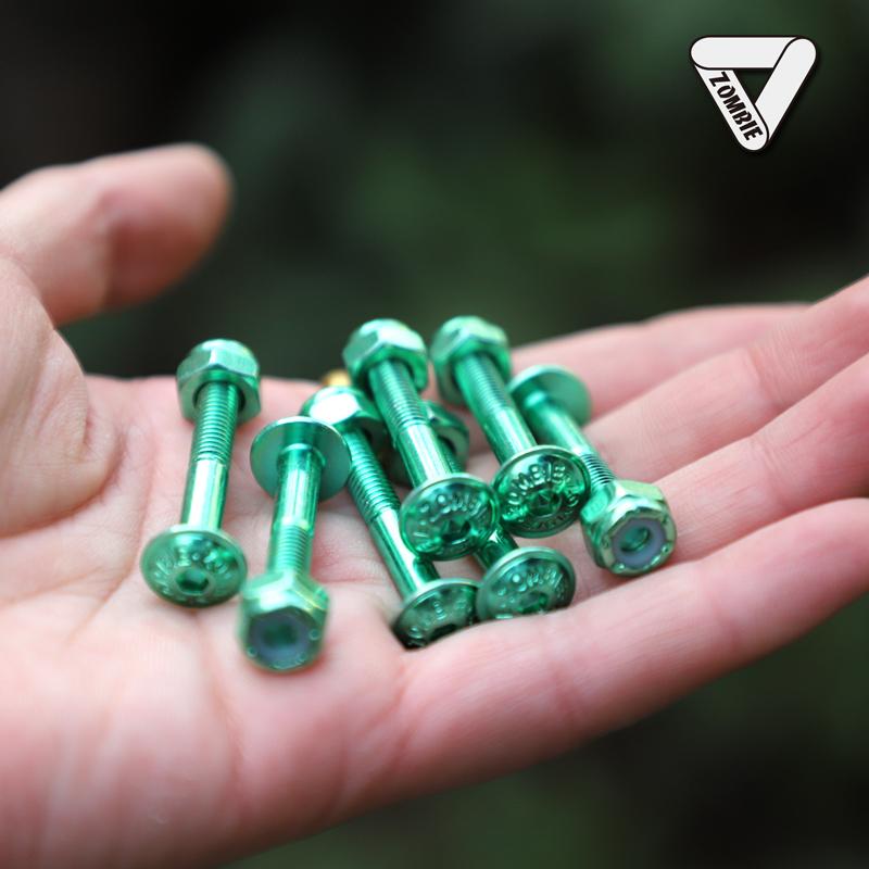 ZOMBIE slide панель Мостовой гвоздь / панель Гвозди большие круглые головы низ ловушка черный l зеленый 25mm/32mm
