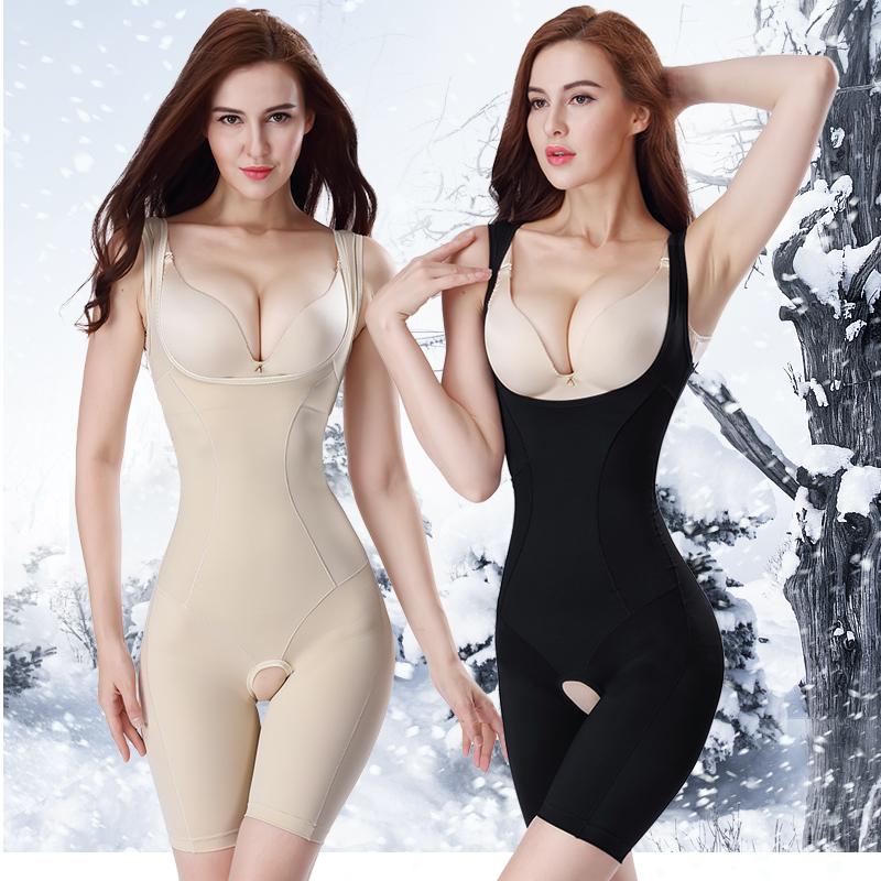 冰丝紧身衣连体塑身衣燃脂减肚子收腹美体瘦身束身衣塑体衣女内衣
