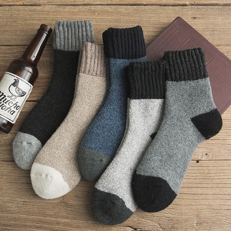 限100000张券纯棉中筒冬季加绒冬天超厚羊毛袜子