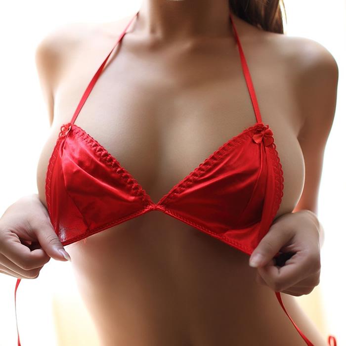 日系性感三点式情趣内衣系带比基尼胸罩文胸套装丁字内裤极度诱惑