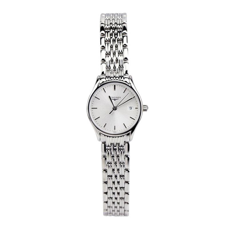 正品瑞士浪琴律雅系列女表正品手表时尚腕表石英表L4.259.4.12.6