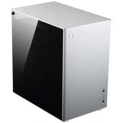 乔思伯VR2全铝M-ATX双侧透垂直风道水冷电脑小主机箱苹果简约机箱