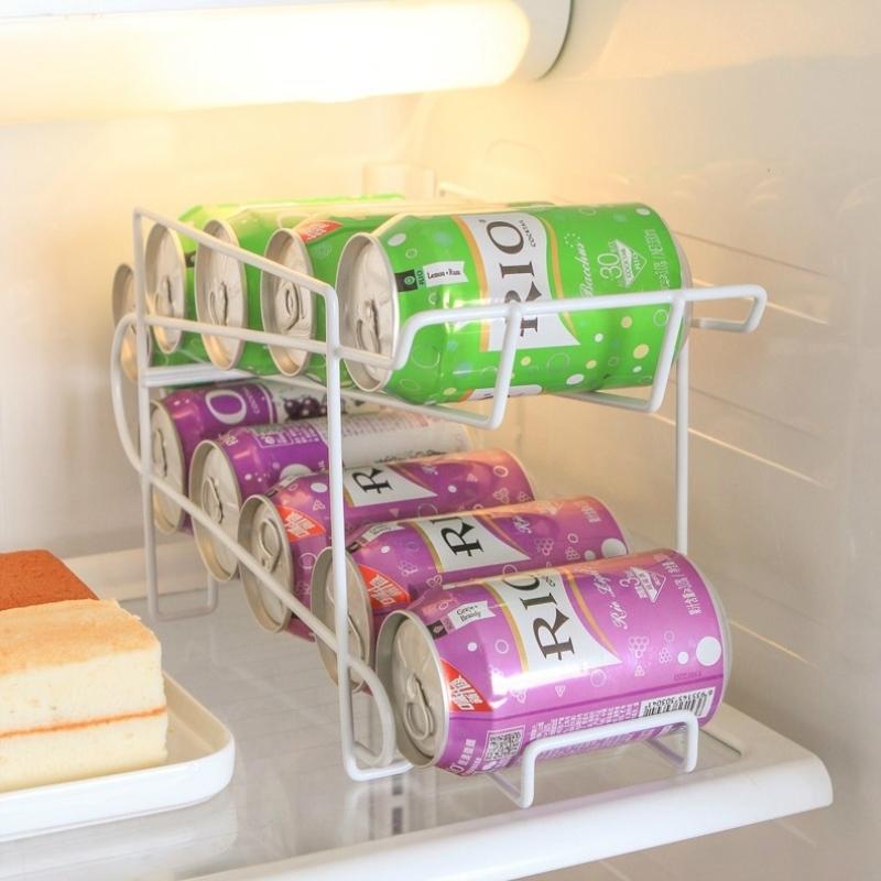 汽水架汽水省空间酒水托架可乐罐易拉罐饮料收纳架餐厅啤酒瓶置物
