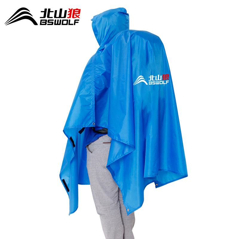 户外登山三合一背包男女骑行雨衣