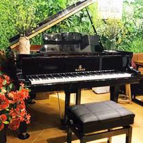 送货到家086家庭教学钢琴红色电钢琴英国世爵全新三角钢琴SPYKER