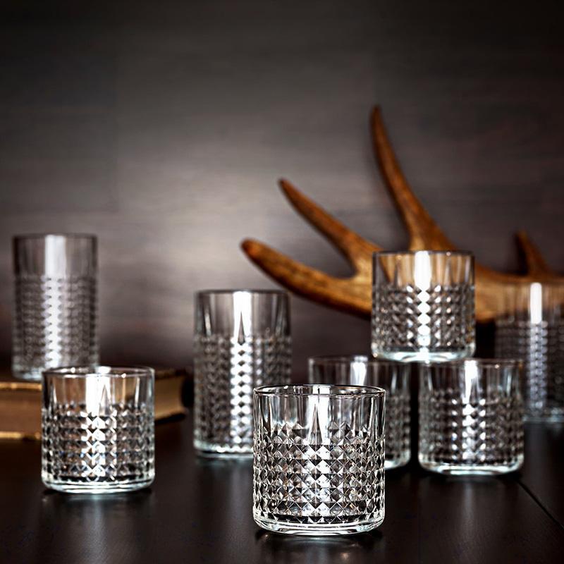宜家 弗雷塞拉杯子 透明玻璃水杯酒杯大容量喝水喝茶咖啡杯创意