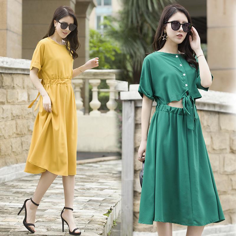 特价连衣裙布景女装官方旗舰店艾利�W2018夏装新款乔拉菲专柜