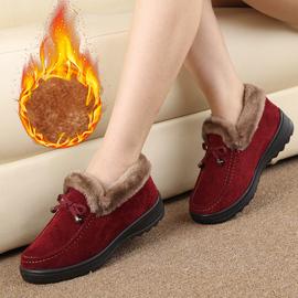 老北京棉鞋女冬季保暖加绒加厚老人防滑雪地靴妈妈旗舰店官方布鞋图片