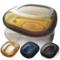 欧式水晶玻璃烟灰缸家用创意领导礼品大鼠标烟缸时尚北欧摆件ins