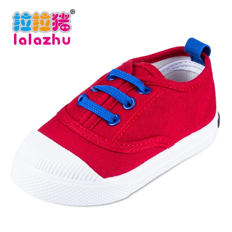 2016春秋兒童帆布鞋單鞋男童女童寶寶球鞋小童鞋子1~3歲2板鞋