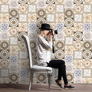 卫生间贴纸防水耐磨地板贴浴室瓷砖贴墙自粘厨房防油贴洗手间墙纸
