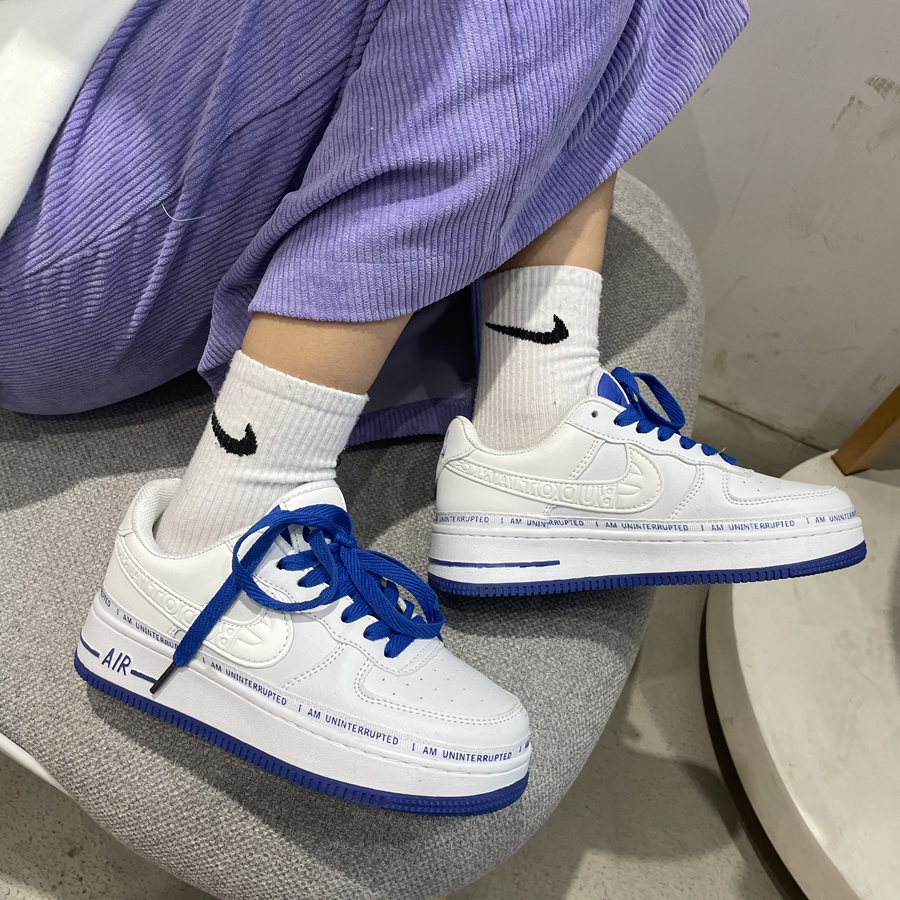 Huili mens shoes have been changed into AJ couplet in spring, and the new air force joint couple sports and leisure low top versatile board shoes are popular