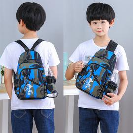 儿童包包斜挎包时尚男童包包小包帅气男孩子背包户外旅游小背包潮