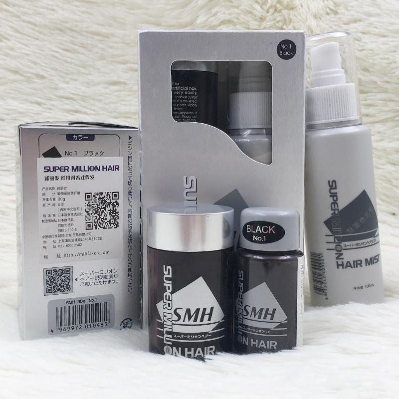 Япония вентилятор корея волосы SUPER MILLION HAIR завод волокно не- носить парик черный / коричневый бесплатная доставка