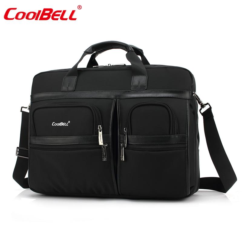 男士大容量商务休闲手提包 15.6/17.3寸笔记本电脑包游戏本单肩包