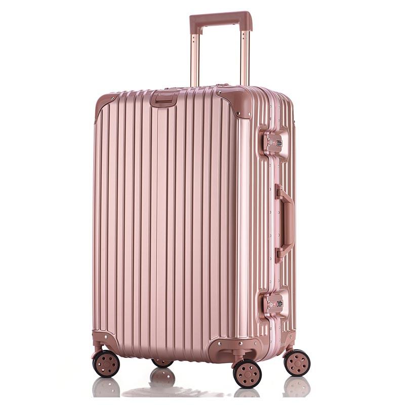 密码行李箱女小清新韩版大学生潮流可爱拉杆旅行箱男大容量万向轮(非品牌)
