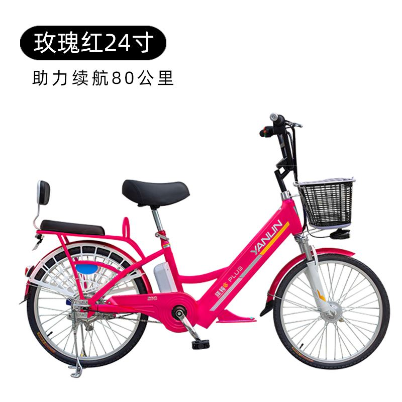 Yangling electric vehicle lithium battery bicycle new national standard 48V adult moped battery car small car scooter