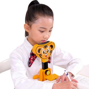 儿童写字矫正器预防近视小学生用防近视坐姿矫正器视力保护器纠正写字姿势仪架护眼矫正低头坐姿提醒器正姿器