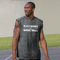 篮球背心上衣t恤男美式大码运动速干投篮训练服无袖坎肩科比球衣