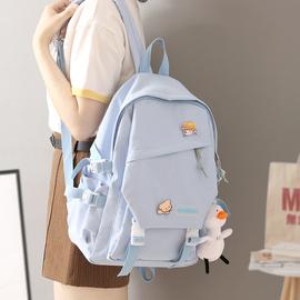 韩版高中原宿ulzzang书包中学生初中生女潮双肩包2020年新款背包
