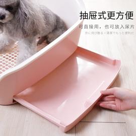 狗厕所小型犬尿尿神器抽屉式屎盆自动泰迪狗狗便盆大型犬宠物用品图片