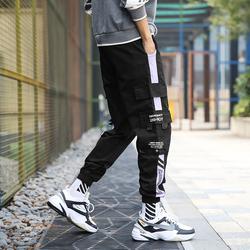 秋季男休闲裤宽松束脚裤港风工装裤QT717K62P40(量大有差价)