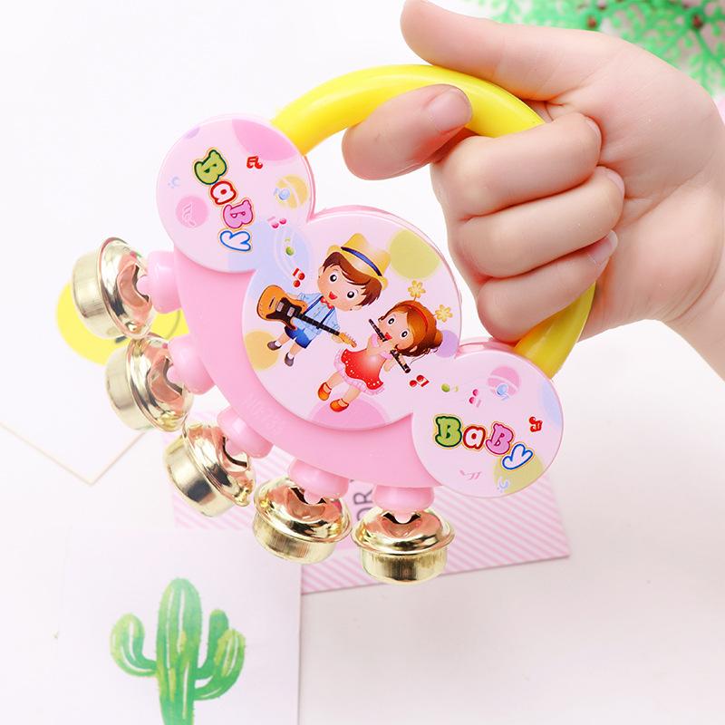 婴儿玩具批发宝宝小摇铃摇摇乐儿童益智早教玩具0-1岁新生儿铃铛