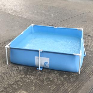 免充气儿童戏水池户外支架游泳池家庭养鱼池广场钓鱼池室内游泳池