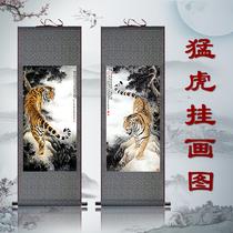三宝佛画文殊像观音挂画像释迦牟尼佛像要师佛阿弥陀佛圆形装饰画