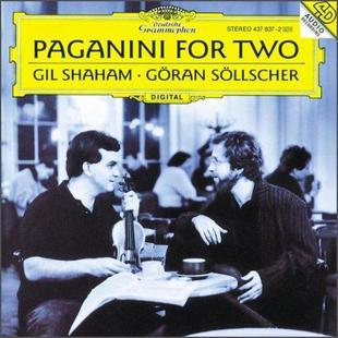 企鹅三星带花 进口CD 小提琴与吉它 4378372 对话 帕格尼尼 正版