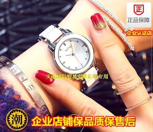 出口正品金米欧陶瓷表韩国时尚手表女款水钻时装表潮手链表腕表