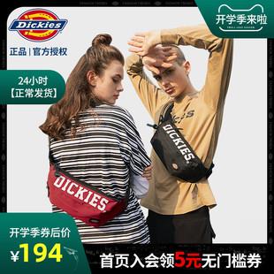 腰包大学生潮流休闲女士胸包单肩包包C012 Dickies潮牌斜挎包男士