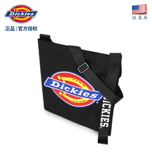 Dickies Chao brand oblique bag printing LOGO small bag male trend college students canvas single shoulder bag C232