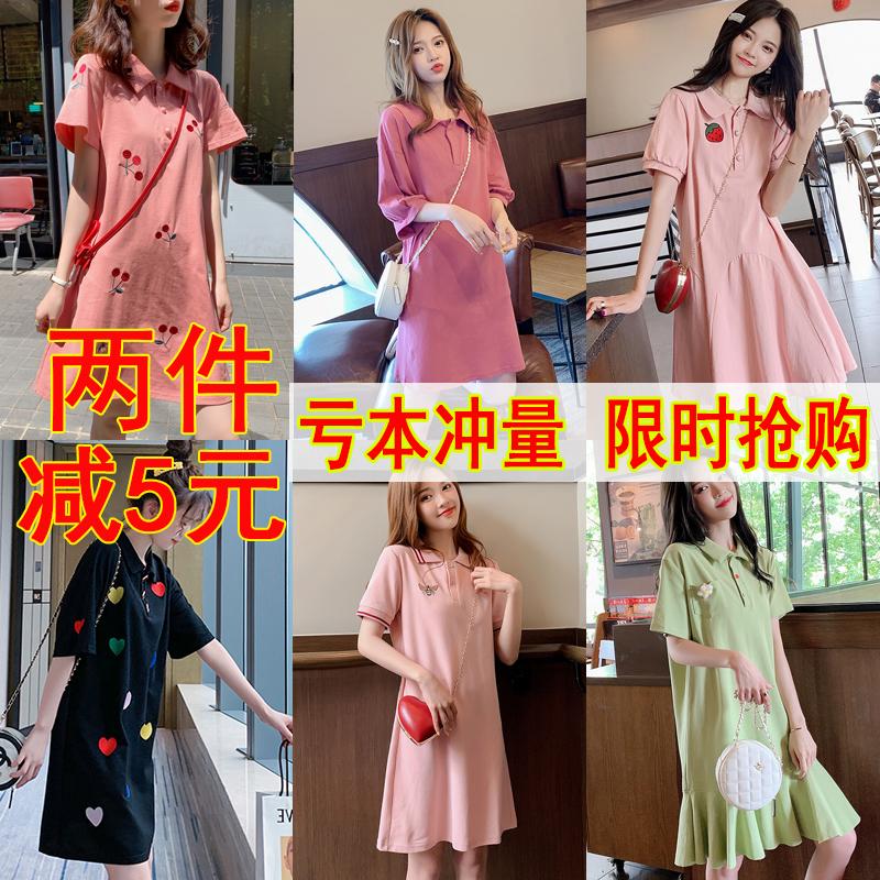11-27新券哺乳夏季辣妈款纯棉中长款连衣裙
