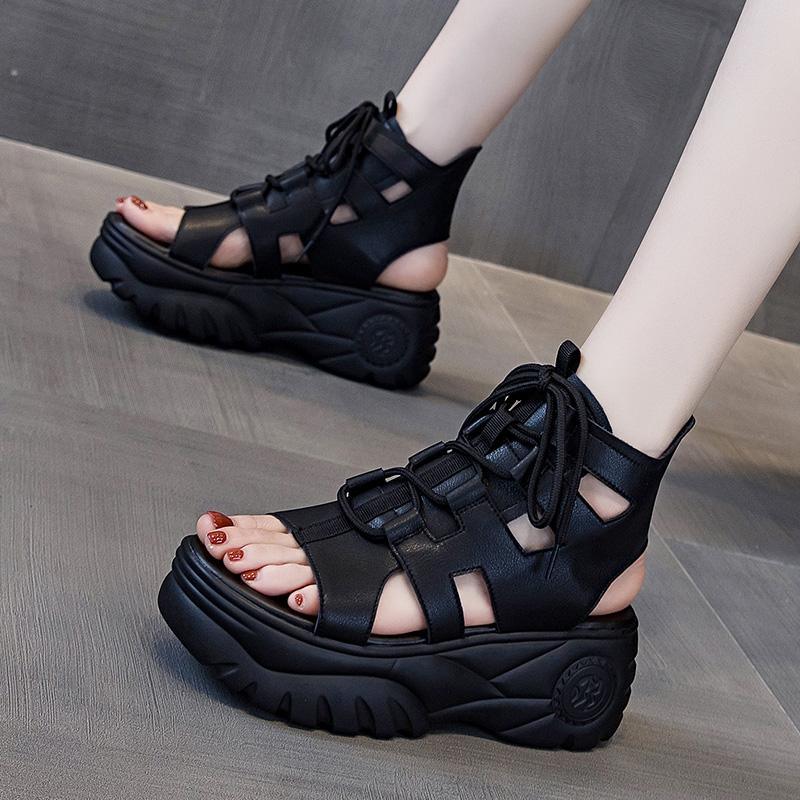 Женские ботинки на платформе / Высокие кроссовки Артикул 619946394916