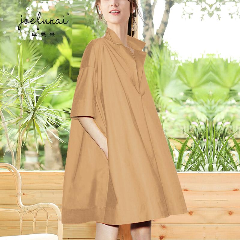 连衣裙2020新款夏季裙子遮肉显瘦欧货裙子女2020洋气斗篷裙大码裙图片
